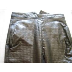 Pantalon slim, cigarette Stine Goya  pas cher