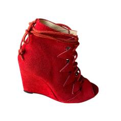 Bottines & low boots à compensés Bel Air  pas cher