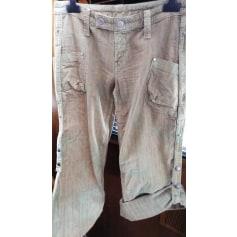 Pantalon évasé Diesel  pas cher