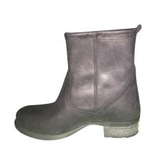 Bottines & low boots motards Chiara Ferragni  pas cher