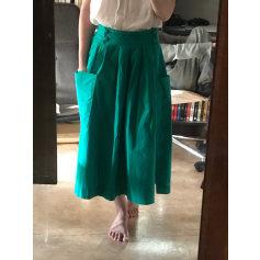 Jupe mi-longue Vintage  pas cher