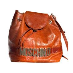 Schultertasche Leder Moschino