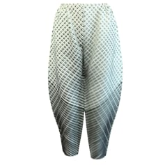 Pantalon droit Pleats Please by Issey Miyake  pas cher