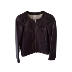 Leather Zipped Jacket Vanessa Bruno