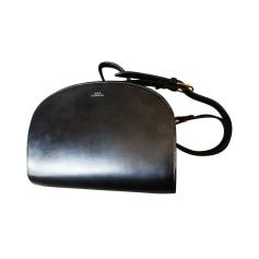 Leather Shoulder Bag APC Demi Lune