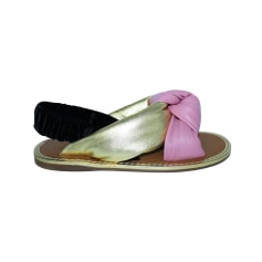 Sandali piatti Miu Miu