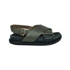 Sandales plates  Marni  pas cher