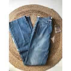 Jeans évasé, boot-cut Le phare de la baleine  pas cher