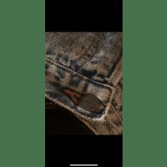 Jeans droit Acquaverde  pas cher