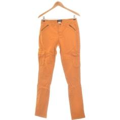 Pantalon droit Soft Grey  pas cher