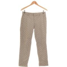 Pantalon droit Uniqlo  pas cher