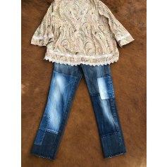 Jeans droit Vintage  pas cher