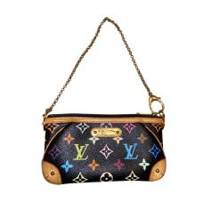Sac pochette en cuir Louis Vuitton  pas cher