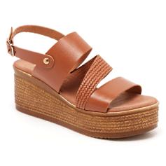 Sandales compensées Girlhood  pas cher