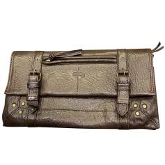 Leather Clutch Jerome Dreyfuss