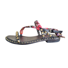 Flat Sandals Ash