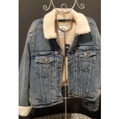 Denim Zipped Jacket Hollister