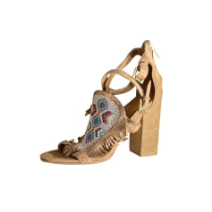 Heeled Sandals Ash