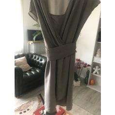 Robe mi-longue Hugo Boss  pas cher