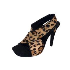 Sandales à talons Diane Von Furstenberg  pas cher