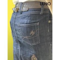 Jupe mi-longue Liu Jo  pas cher