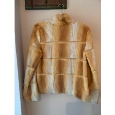 Manteau en fourrure Helen Wang  pas cher