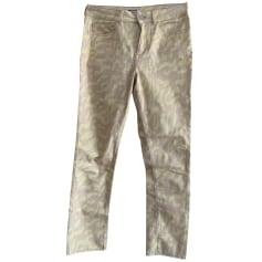 Pantalon slim, cigarette Max & Moi  pas cher