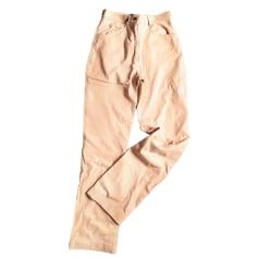 Pantalon droit Salvatore Ferragamo  pas cher