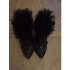 Bottines & low boots à talons Roberto Cavalli  pas cher