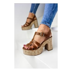 Sandales à talons Minka Design  pas cher