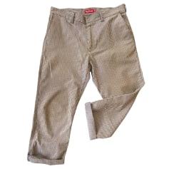Pantalon droit Supreme  pas cher