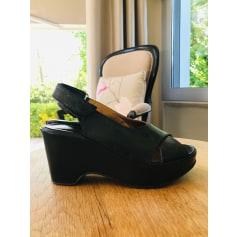 Sandales compensées Espace  pas cher