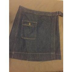 Jupe en jean Comptoir Des Cotonniers  pas cher