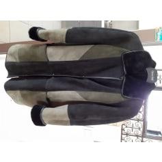 Manteau en cuir Francesco Rizzi  pas cher