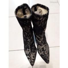 High Heel Ankle Boots Mango