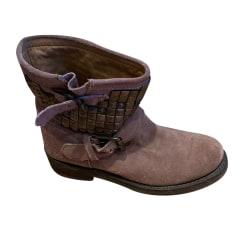 Biker Ankle Boots Ash
