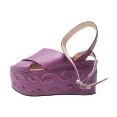 Sandales compensées Pinko  pas cher