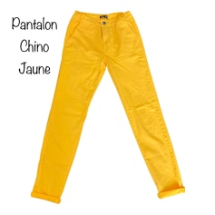Pantalon carotte   pas cher