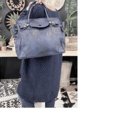 Lederhandtasche Genuine Leather