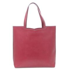 Leather Oversize Bag Cartier