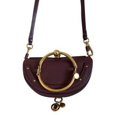 Leather Shoulder Bag Chloé Nile