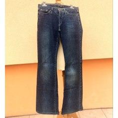 Jeans large, boyfriend Versace  pas cher