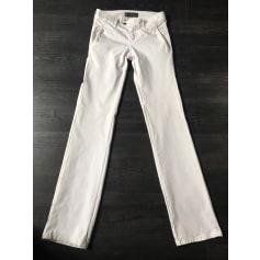 Pantalon droit Denim Studio  pas cher