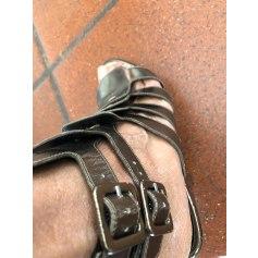 Sandales compensées Robert Clergerie  pas cher