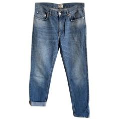 Jeans large, boyfriend Acne  pas cher