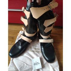Bottes plates Vivienne Westwood  pas cher