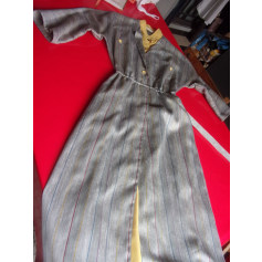 Robe mi-longue hucke  pas cher