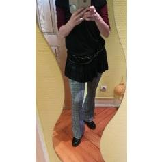 Pantalon très evasé, patte d'éléphant Lauren Vidal  pas cher
