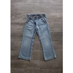 Jeans évasé, boot-cut Okaïdi  pas cher