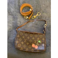 Sac en bandoulière en cuir Louis Vuitton Pochette Accessoires NM pas cher